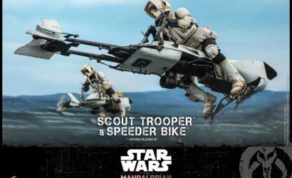 Hot Toys 1/6 Scale Scout Trooper & Speeder Bike zu The Mandalorian vorgestellt