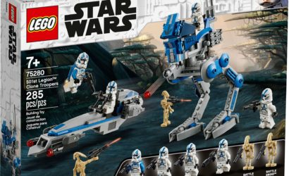 Alle Bilder zum LEGO Star Wars 75280 501st Legion Clone Troopers Battle Pack