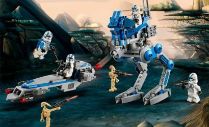 LEGO Star Wars 75280 501st Legion Clone Troopers Battle Pack vorgestellt