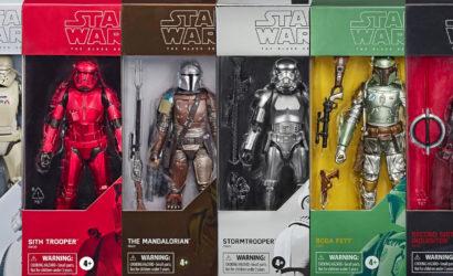 """Übersicht zur Hasbro 6″ Black Series """"Carbonized Collection"""""""