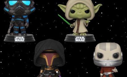 Vier neue Funko POP! Games Star Wars-Wackelköpfe vorgestellt