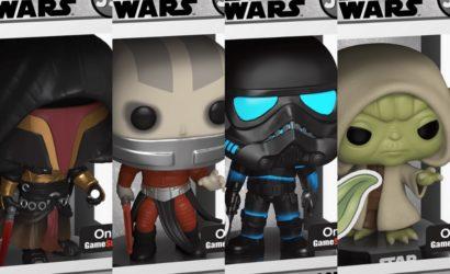 Neue Funko POP! Games Star Wars-Wackelköpfe nun verfügbar