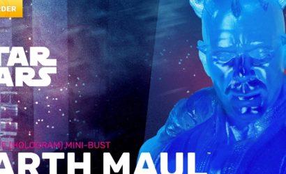 Neue Darth Maul Holographic Mini-Bust von Gentle Giant
