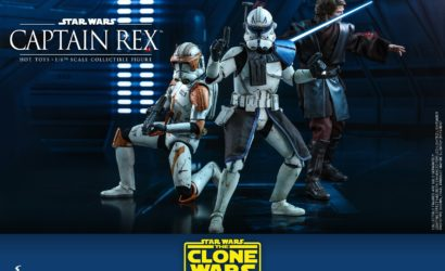 Alle Infos und Bilder zur Hot Toys Captain Rex 1/6 Scale-Figur