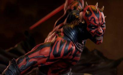 Alle Infos und Bilder zur neuen Mythos Darth Maul Statue von Sideshow