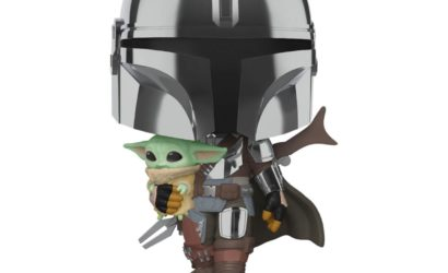 Funko POP! 10″ Chrome Mandalorian with Child angekündigt