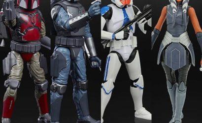 Neue Hasbro Black Series 6″-Figuren zu The Clone Wars vorgestellt