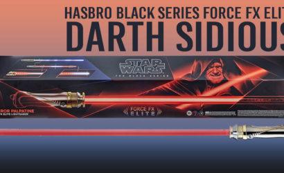 Alle Infos zum Hasbro Force FX Elite Darth Sidious Lichtschwert