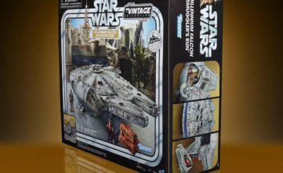 Exklusiv: Hasbro 3.75″ TVC Millennium Falcon Smuggler's Run mit 100 Euro Rabatt