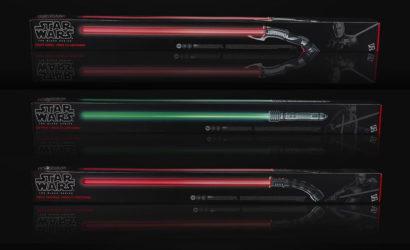 Die aktuellen Hasbro Black Series Lightsabers: 20% Rabatt bei EMP.de
