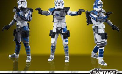 Neues 501st Legion ARC Troopers-Set für die Vintage Collection von Hasbro