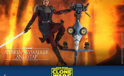 Alle Infos zum Hot Toys 1/6th Scale Anakin Skywalker & STAP