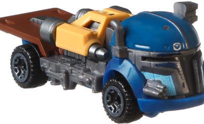 Bilder zu den Hot Wheels Nien Nunb & Heavy Infantry Mandalorian Character Cars
