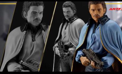 Neuer Kotobukiya ArtFX Plus Lando Calrissian zu Empire Strikes Back vorgestellt