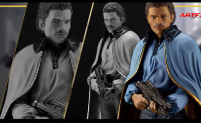 Neuer Kotobukiya ArtFX Plus Lando Calrissian zu Empire Strikes Back vorgestellt