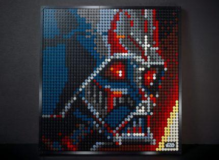 """Alle Infos und Bilder zum """"LEGO Art 31200 The Sith""""-Mosaik"""