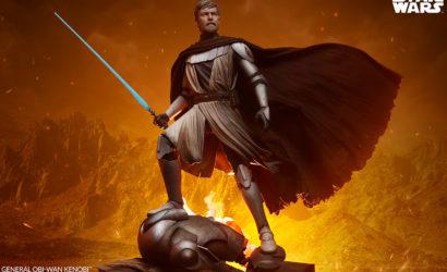 Alle Infos zur Sideshow General Obi-Wan Kenobi Mythos Statue