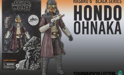 Alle Bilder zur Hasbro Black Series Hondo Ohnaka 6″-Figur