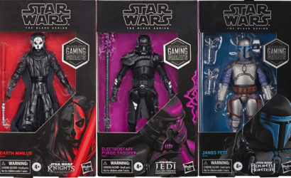 Hasbro Black Series 6″ Gaming Greats: Alle Infos zu Jango Fett, Electrostaff Purge Trooper & Darth Nihilus