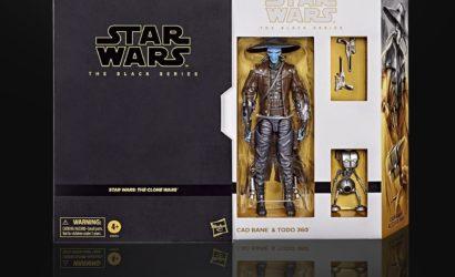 Hasbro Black Series 6″ Cad Bane & Todo 360 als European Convention Exclusive