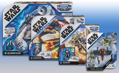 Alle Informationen zur neuen Hasbro 2.5″ Mission Fleet Series