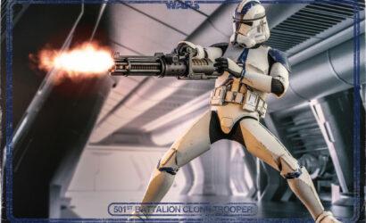 Hot Toys 1/6th Scale 501st Battalion Clone Trooper: Finale Produktbilder