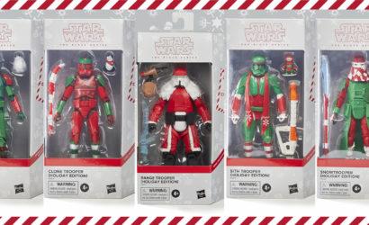 Hasbro Black Series 6″ Christmas Troopers 2020: Alle Infos und Bilder zur Holiday Edition