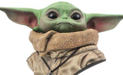 """The Child """"Legends in 3D""""-Büste von Diamond Select Toys angekündigt"""