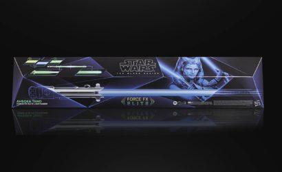 Ahsoka Tano Force FX Elite Lichtschwert von Hasbro: Alle Infos und Bilder