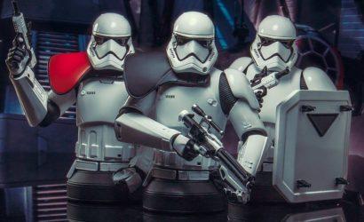 Drei Gentle Giant First Order Stormtrooper 1/6 Scale Mini-Busts angekündigt