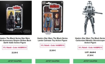 Zavvi.de: 10% Rabatt auf Hasbro-Produkte