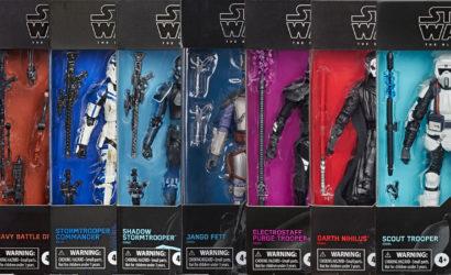Hasbro Black Series 6″ Gaming Greats-Figuren bei GameStop verfügbar
