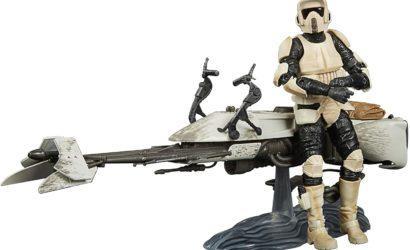Hasbro Black Series 6″ Speeder Bike, Scout Trooper & The Child: Alle Bilder