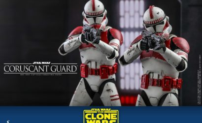 Hot Toys 1/6th Scale Coruscant Guard (The Clone Wars) (TMS025): Finale Produktbilder