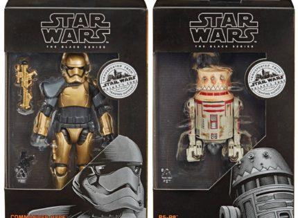 Hasbro 6″ Black Series Commander Pyre & R5-P8 für Trading Outpost Collection vorgestellt