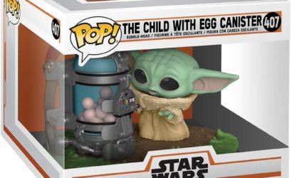 Funko POP! 407 The Child (with egg canister): Alle Infos und Bilder