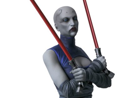 Gentle Giant Asajj Ventress 1/6th Scale Mini Bust: Alle Infos und Bilder