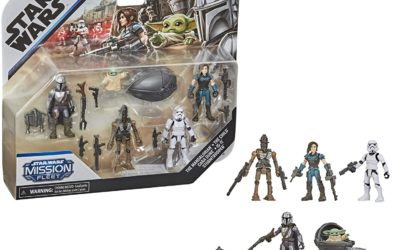 Hasbro 2.5″ Mission Fleet Series: Neues Mandalorian-Multipack aufgetaucht