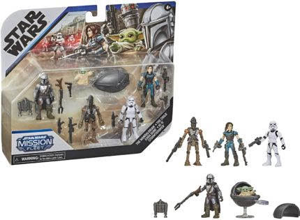 Hasbro 2.5″ Mission Fleet Series: Neues Mandalorian-Multipack aufgetaucht