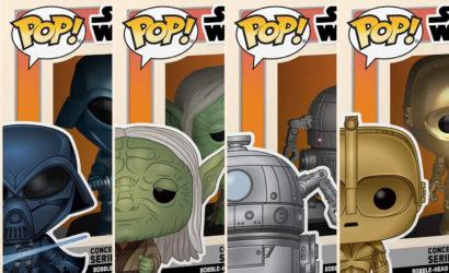 Funko POP! McQuarrie Concept-Series: Vier weitere Wackelköpfe vorgestellt