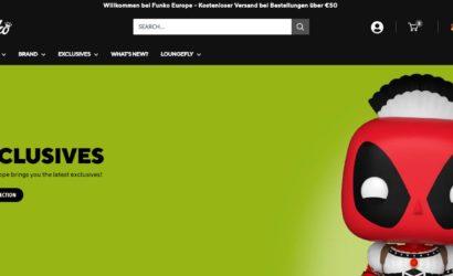 Offizieller Funko-Shop nun auch in Deutschland gestartet