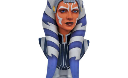 Diamond Select Toys 1/2 Scale Ahsoka Tano Legends in 3D-Büste: Erste Infos und Bilder