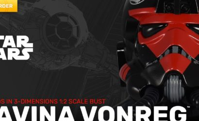 Gentle Giant 1/2 Scale Havina Vonreg Legends in 3D-Büste: Finale Produktbilder