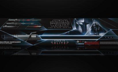 Hasbro Black Series The Mandalorian Darksaber Force FX Elite Lichtschwert: Für 188,24 € bei Amazon Spanien