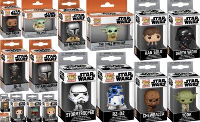 Funko POP! Star Wars Keychains: Alle Bilder der Boxen