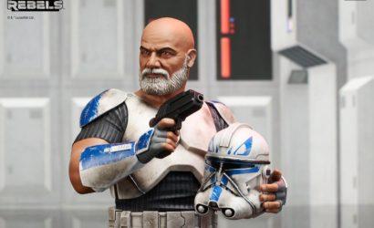 Gentle Giant Captain Rex (Rebels) Mini Bust: Neue Detailbilder des Prototypen