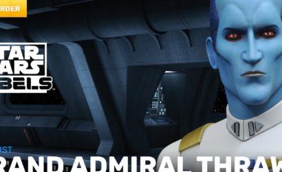 Gentle Giant 1:7 Grand Admiral Thrawn Animated Mini Bust: Alle Infos und Bilder