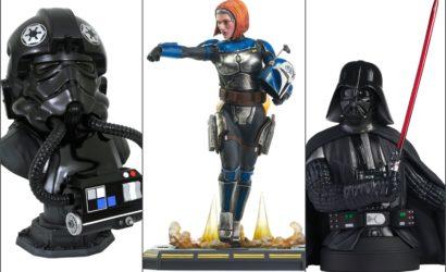 Drei neue Collectibles von Diamond Select Toys und Gentle Giant vorgestellt