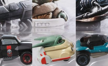 Grogu, Wrecker und Cara Dune als Hot Wheels Character Cars vorgestellt