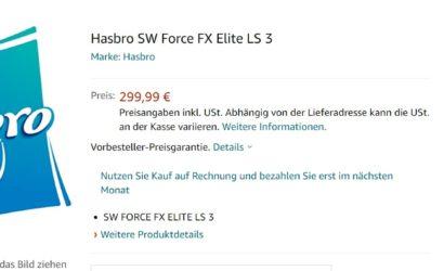 Hasbro Black Series Rey Skywalker Force FX Elite Lichtschwert: Erste Infos aufgetaucht